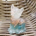猫型オルゴナイト お座り☆おるごにゃいと アパタイト