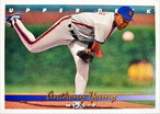 MLBカード 93UPPERDECK Anthony Young #071 METS