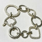 Vintage Paola Valentino Chunky Chain Bracelet Made In Italy