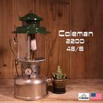Coleman コールマン ダブルマントル ランタン 220D 1948年後期 [AT04]