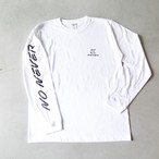 NONEVER Long Sleeve T-Shirts WHT