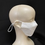 私たちが今できること。洗える綿100%マスク 高機能シート10枚付き 2枚組(白)