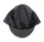 cross bandana cap  col.black(ash grey)