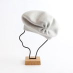 mature ha./beret tuck &gather rib/light grey
