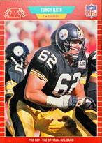 NFLカード 89PROSET TUNCH ILKIN #349 STEELERS