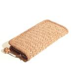 縦網代編み(5㎜ひご) 財布