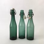 """ベルギーのヴィンテージのビール瓶 「Waterloo Bracquegnies」  Belgian Vintage Beer Bottle """"Waterloo Bracquegnies"""""""