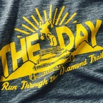 【ORIGINAL】THE DAY TRAIL T-SHIRTS 2017 HEATHER CHACOAL