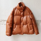 【ALLEGE】 Leather Down Jacket