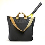 Oxford/Racket tote/Large/Black