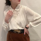 cutwork lace  blouse