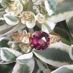 Victorian Rhoderite Garnet Ring