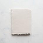 ハンドメイドペーパー A6 ホワイトサンド 3枚/White Sand Small Sheets - A6