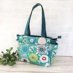 I様★2点鳥さんとお花のサイドポケットバッグ