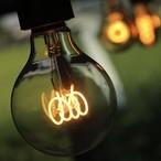 【調光器対応】E26 エジソンバルブ LED スパイラル GLOBE