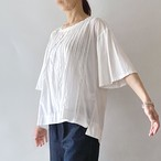 【2020SSnew】フレア袖タックTシャツ (U07)