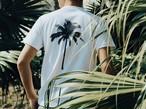 【Fine7月号掲載】Palm tree Tシャツ (white)