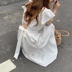 スタイルバックセクシーロングドレス