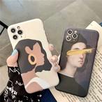Cool Girl&Gentleman iPhone case