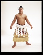 昭和40年5月場所優勝 横綱 佐田の山晋松関(4回目の優勝)