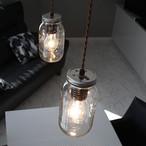 ペンダントライト ランプ 照明 Maison Lamp(サイズM) メイソンジャー LED対応