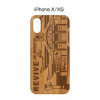 ウッドiPhoneケースX/Xs用