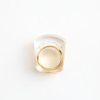 JUTIQU/Glam Ring 2 _gold