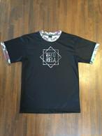 マーブルカモTシャツ  ブラック【VAYoreLA】バイオレーラ