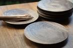 丸皿(φ180) ウォールナット