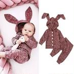 ベビー&キッズ うさみみセットアップ S102 rabbit
