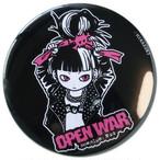 MIKAZUKI / ミカヅキ BIG カンバッジ OPEN WAR[ BIG-6 ] 76mm