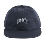 0867 / Unstructured Cap / Arch / Logo / Navy