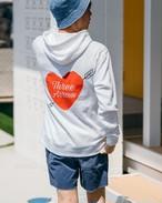 ThreeArrows Heart Logo Hoodie (red)