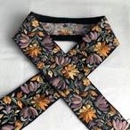 インド刺繍リボン イエロー×ブラック ins-0054yb