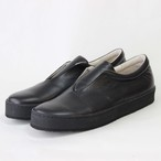 steer leather sneaker/BLK,CAM/l.o.b【即納】