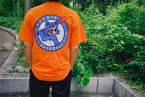 Baseball Cat Tee【White / Orange / Melon】