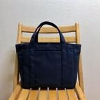 「ポケットトート」中サイズ「ネイビー(紺)」帆布トートバッグ 倉敷帆布8号