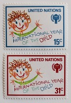 国際児童年 子供の絵 / 国連 1979