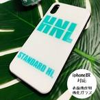 HNL 強化ガラスiphoneケース(iphoneXR)