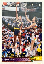 NBAカード 92-93UPPERDECK Byron Scott #197 LAKERS