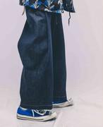 EFFECTEN(エフェクテン) tuck wide denim pants(rigid)