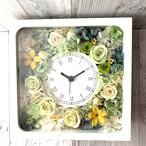 ◆オーダーメイド彫刻◆受注制作◆ 花時計 グリーンAS