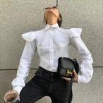 comウィングシャツ シャツ 韓国ファッション