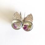 wing pierced earring