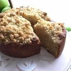 ブラムリーアップル・クランブルケーキ