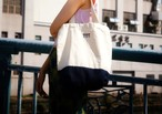 Tote bag #01 Chikko blue