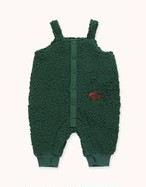 "TINYCOTTONS タイニーコットンズ ""TINY FOX"" DUNGAREE color:dark green size:12M(80-90)"