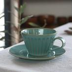 陶工房里一 ミントマグカップ