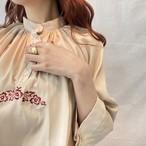 vintage刺繍ブラウス(elie)