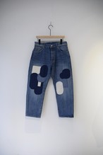 【ordinary fits】OM-P056RK 5POCKET LOOSE DENIM remake C